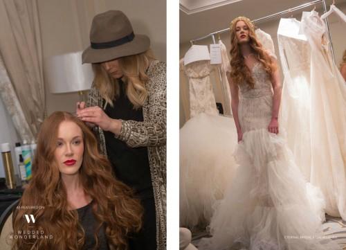 Natalie Anne @ The Eternal Bridal & Galia Lahav Trunk Show hair 2