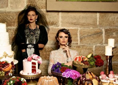 Wedded Wonderland's winter editorial shoot hair2